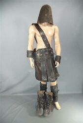 HERCULES EXECUTIONER SCREEN WORN MASK BELT SKIRT GREAVES SHOES WRISTLETS