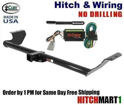 Class 3 Trailer Hitch And Wiring For 1999-2004 Honda Odyssey 2 Tow Receiver 13068