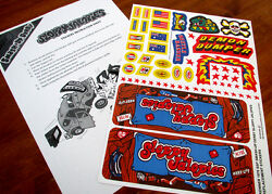 Replacement Stickers For Kenner 1978 Ssp Smash-up Derby Sloppy Jalopies