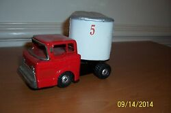 """Marx """"circus"""" Truck And Trailer 1950's"""