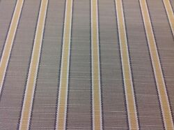 Clarence House Outdoor Upholstery Fabric Sans Souci Stripe/yellow 34753-2 7.1y