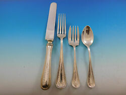Commonwealth Engraved By Watson Sterling Silver Regular Place Settings 4pc