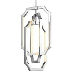 Feiss 6-light Audrie Chandelier, Polished Nickel - F2954-6pn
