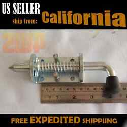 6x Rv Utility Trailer Gate Spring Loaded Pin Latch For Drop Gate Ramp Truck Door
