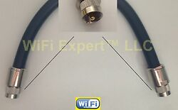 50-200and039 Timesandreg Lmr600uf Low Loss Flex Coax Rf Cable Pl259 So238 N Type Male Feml