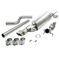 Zzperformance 2012-17 Chevy Sonic Rs 1.4l Catback Stainless Exhaust System