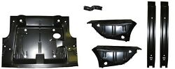 Trunk Floor Tank Brace Spare Bracket And Drop Off Extension Kit 70-74 Challenger