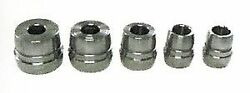 5 Pc Brake Lathe Double Ended Tapered Cone Adapter Set 1 Arbor Ammco Accuturn