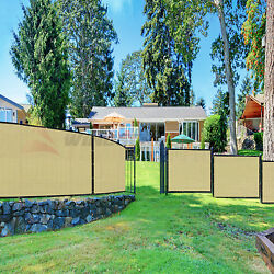 Customize Beige/tan 4and039 5and039 6and039 8and039 H Fence Privacy Wind Screen Mesh Cover W/zip