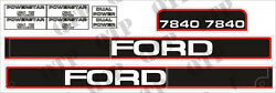 41699 Fits New Holland Decal Kit Ford 7840 - Up To 96 - Pack Of 1