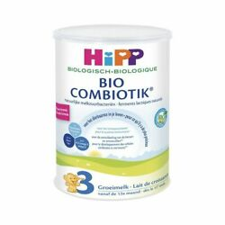 4 Cans Hipp Organic Combiotic Growing Up Milk -stage 3 Dutch Version 800g W/ Dha