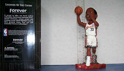 2003 Lebron James White Jersey Shooting Rookie Bobblehead Cleveland Cavaliers