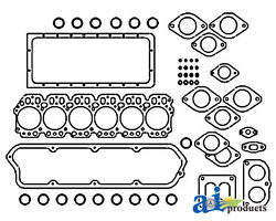 Compatible With John Deere Gasket Set Upper Ar56154 6030 6.531a 6cyl Eng7520