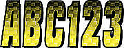 3 Letter Registration Kit Number Sticker Decals Boat Yellow Black Sea Doo Xp