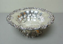 Gorgeous American Redlich And Co Sterling Silver Large 10.5 Compote / Centerpiece