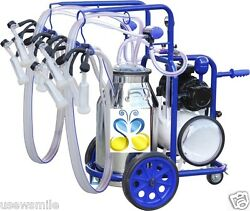 Stainless Steel Milking Machine 10.5 Gal For Goats 120v 4x Milking