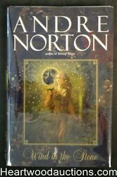 Wind In The Stone By Andre Norton Firstlimitedsigned- High Grade