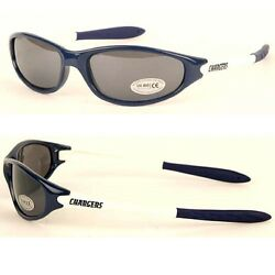 Nfl San Diego Chargers Sun Glasses 2 Tone Logo Series Sport Style Sunglasses