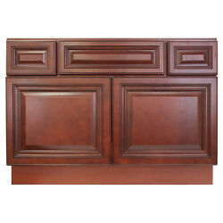 42 Bathroom Vanity Sink Base Cabinet Maple Cherryville By Lesscare