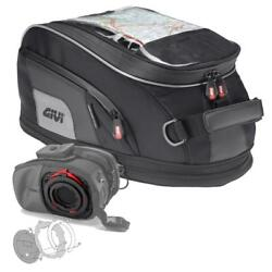 Givi 15 Liter XS307 Tanklock Tankbag and BF17 Tanklock Mount   -