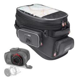 Givi 20 Liter XS308 Tanklock Tankbag and BF17 Tanklock Mount   -