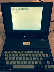 Dell 320n Laptop W/ Authentic Accessories Collectible Item Rare Notebook Lqqk