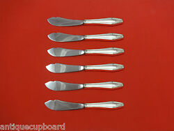 Formality By State House Sterling Silver Trout Knife Set 6pc Hhws Custom Made