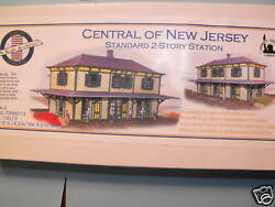 N Scale Cnj 2 Story Station / N Scale Architect 10013