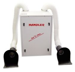 Handler Red Wing 60ufc Heavy Duty Dust Collector Dental Lab Suction Extraction