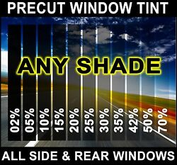 Nano Carbon Window Film Any Tint Shade Precut All Sides And Rears For Ford F-250