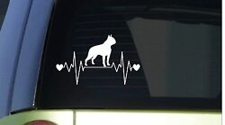 Boston Terrier heartbeat lifeline *I182* 8