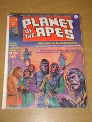 Planet Of The Apes 1 1974 Aug Fn+ Marvel Us Magazine Rod Serling