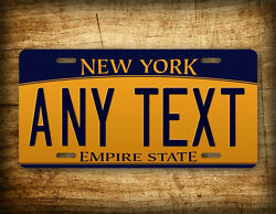New York Personalized License Plate Any Text Custom Customized Auto Tag Sign