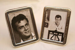 Magnificent Tony Curtis Two Piece Shreve And Co Sterling Silver Picture Frames