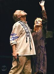 Brad Dourif And Amanda Plummer Signed Two Character Play 8x10 Photo - Proof