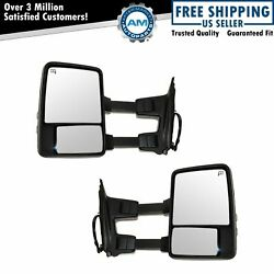 Mirror Power Heated Memory Turn Signal Clearance Textured And Chrome For Pickup