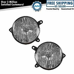 Fog Driving Light Lamp Grill Mounted Set Of 2 Pair Kit For Ford Mustang Gt