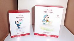 2015 Hallmark Ornaments Frosty Friends A Fish For Christmas And Frosty Friends