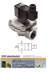 2/2-way Solenoid Valve Normally Closed Nc Stainless Steel Viton