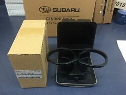 Genuine Subaru Oem 2003-2008 Forester Front Console Cup Holder 66150sa100nd Gray