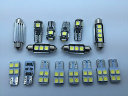 2008- AUDI A5 8T3 Coupe RS5 S-line LED Interior Lights t 12 pcs SMD Bulbs White
