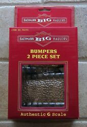 bachmann trains bumpers 2 piece set g