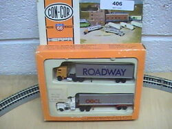 n scale con cor tractor trailer north