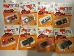 lot of 8 zylmex zee pacesetters die cast