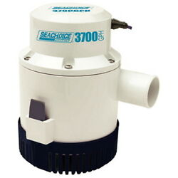 3,700 Gph Electric Submersible Bilge Pump For Boats With 1-1/2 Hose Outlet