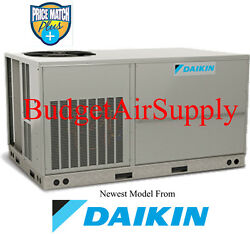 DAIKIN Commercial 6 ton (460V)3 phase 410a AC Package Unit-RooftopGround