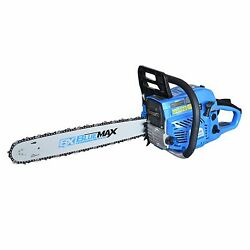 Blue Max 20 51.5cc Gas Powered Heavy Duty Chainsaw Epa Approved 53543