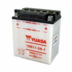 Yuasa 12n11-3a-1 12v 11ah 128 Cca For Personal Watercraft Snowmobiles And Atvs