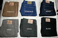 Ex Mands Mens Jeans Straight Leg Added Stretch Regular Fit Mark And Spencer Rrp Andpound39