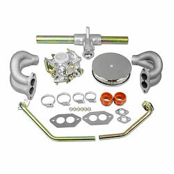 Vw 34 Pict-3 Carb Kit With Tin Air Filter Type 1 And 2 Volkswagen Bug Bus Ghia